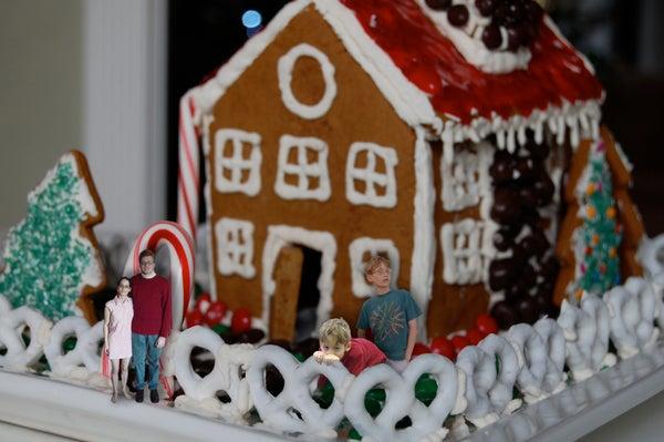 Gingerbread House Built for Living