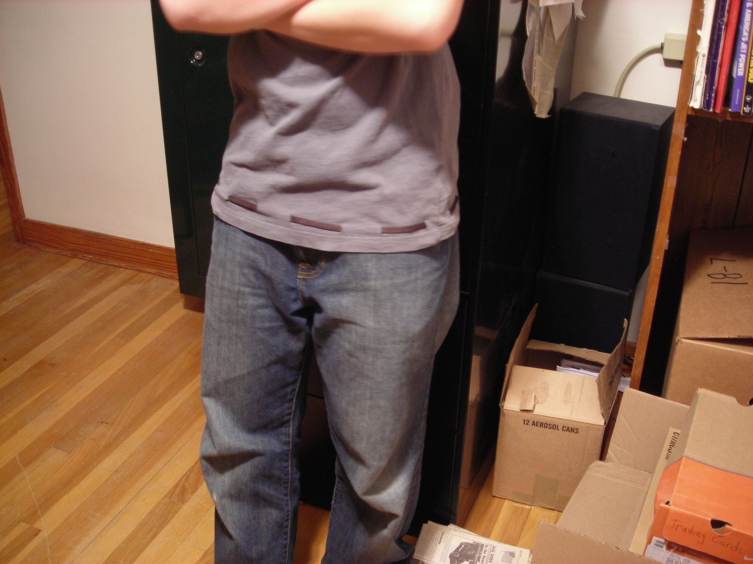 Buit-in T-Shirt Belt