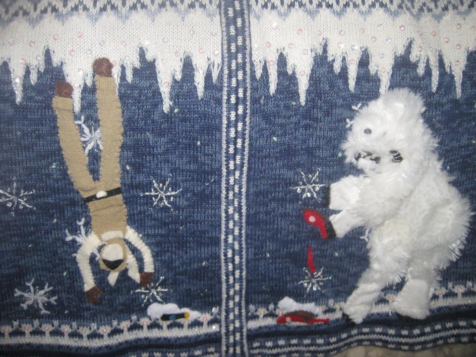 Star Wars Sweater, Luke and Wampa