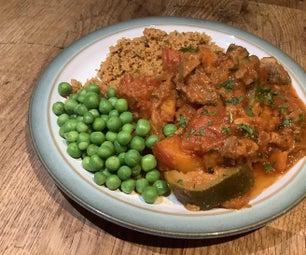 One Pot Moroccan Lamb