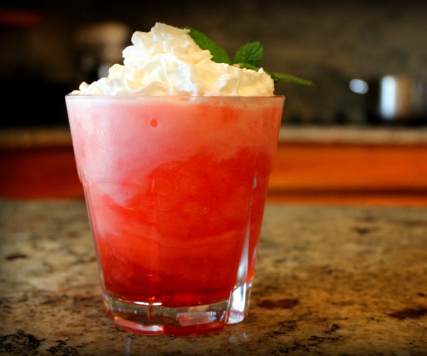 Watermelon Italian Soda Slush