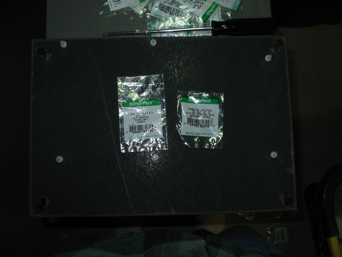 Mark and Drill for Motherboard Supports