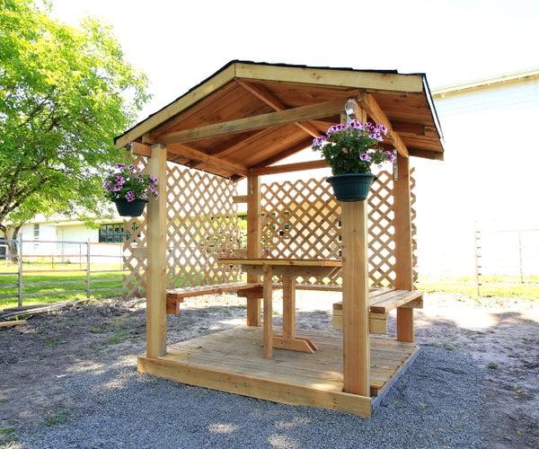 DIY Backyard Gazebo