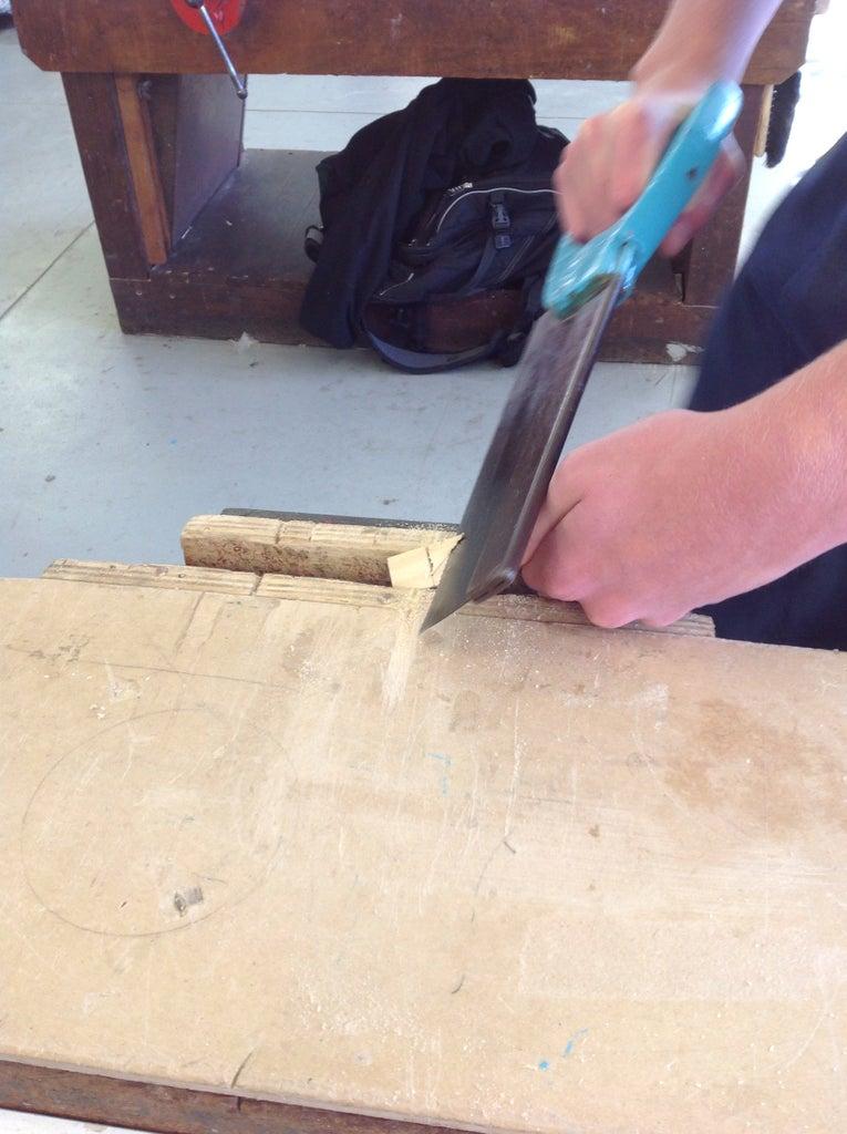 Angled Air Hole Cut