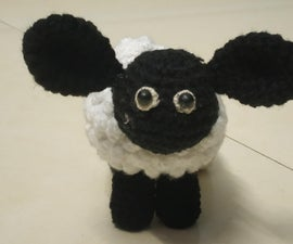 Crochet Your Own Timmy the Lamb With Written Pattern (inspired by Shaun the Sheep's Movie)