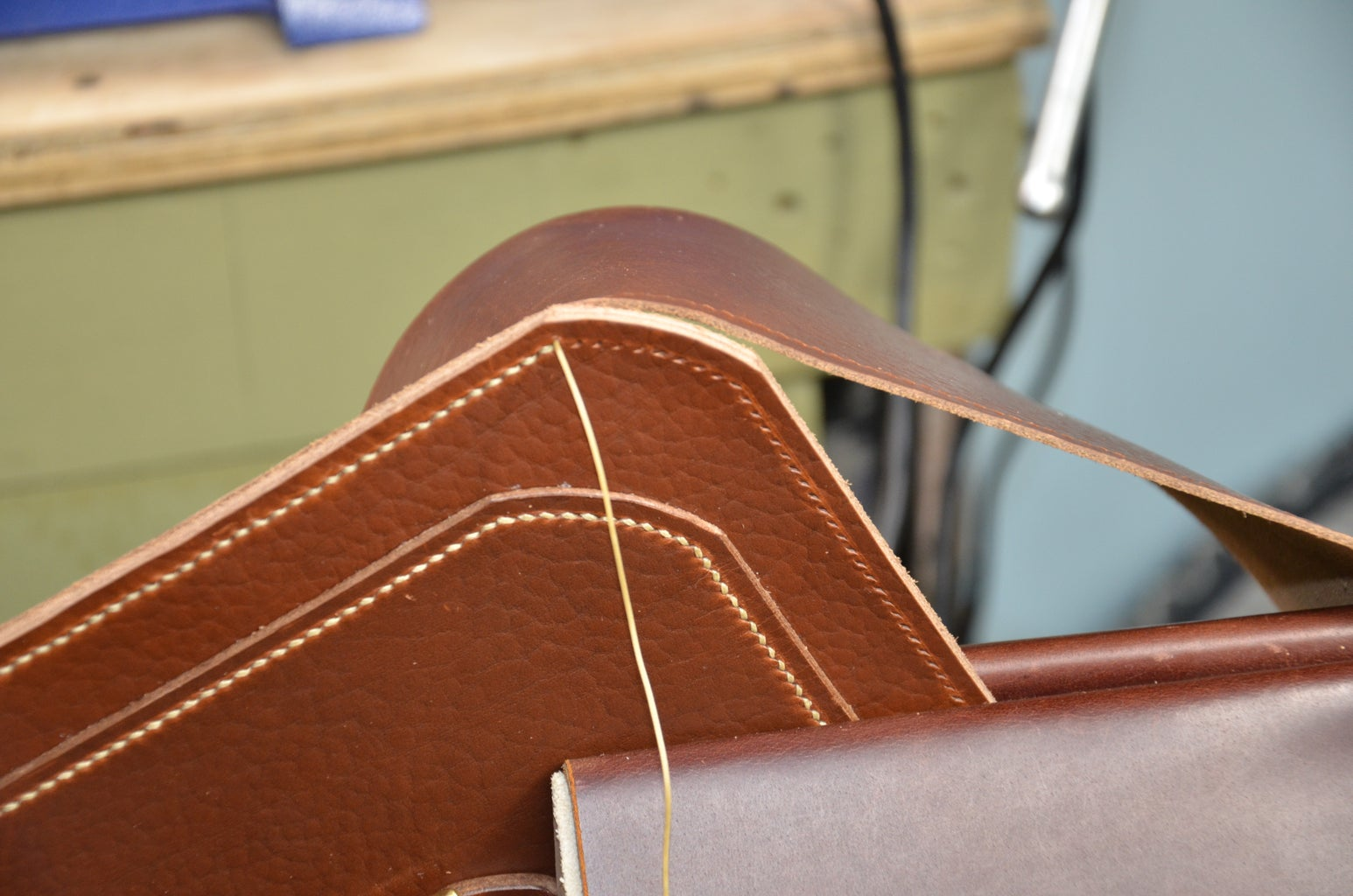 Step 10: Sew Gusset to the Front Panel
