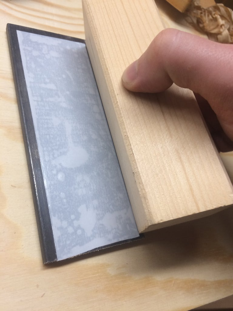 Flattening the Steel Plate for the Sole