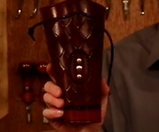 Scaled Leather Arm Guard