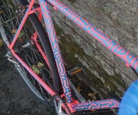 Generative Art Bike Paint Job