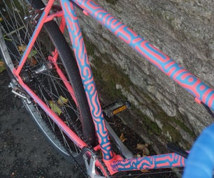 Generative Art Bike Paint Job