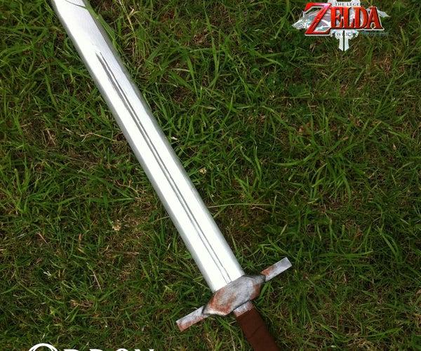 Ordon Sword From Zelda Twilight Princess