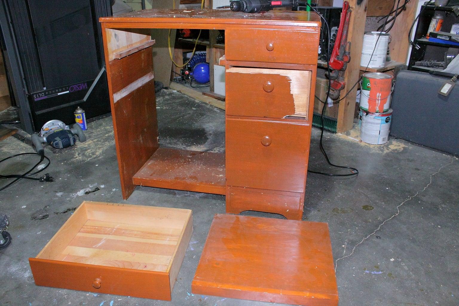 Prep the Desk