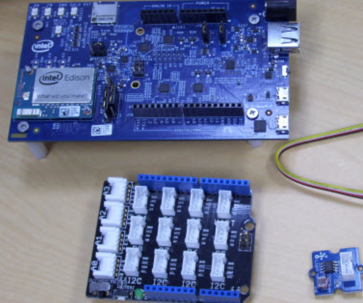 Sensors with Intel IoT Analytics Dashboard ( Intel Edison/C++/Eclipse)