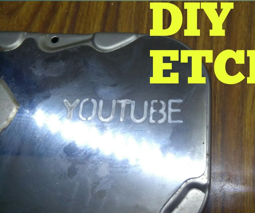 How to Etch Metal