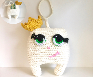 How to Crochet a Tooth Pillow Pal With Hidden Pocket