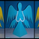 Angels of Cut And Folded Paper