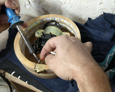 Soldering the Wires