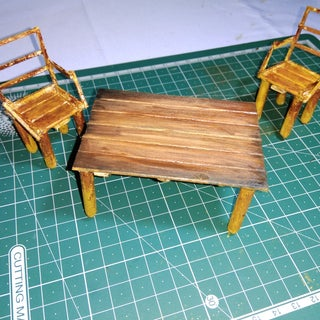 Wow!! Amazing Mini Table and Chair Set.