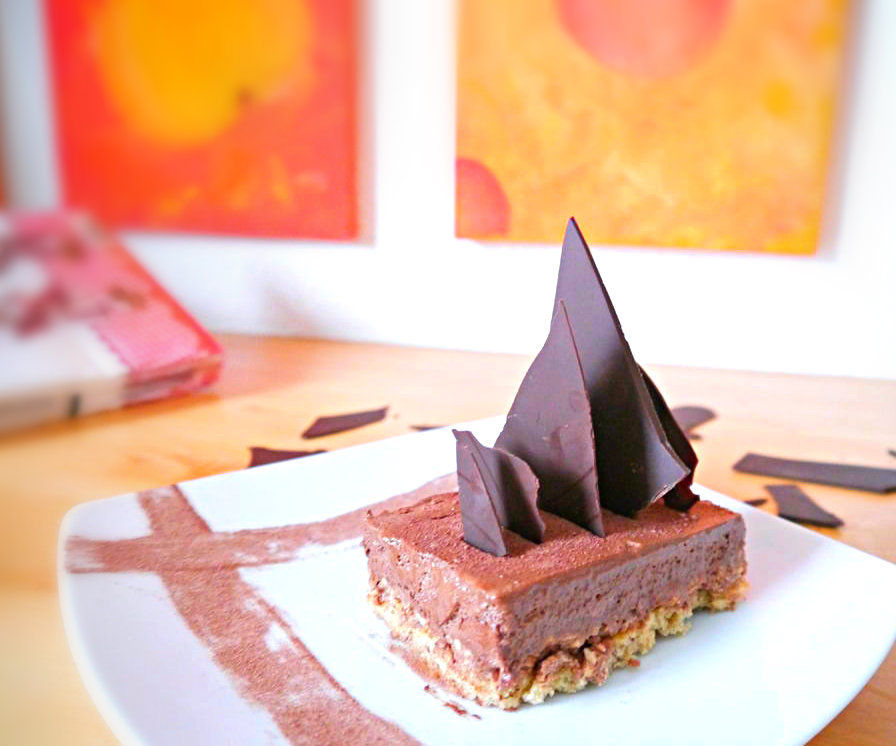 Bake a french chocolate cake: the Trianon / Royal