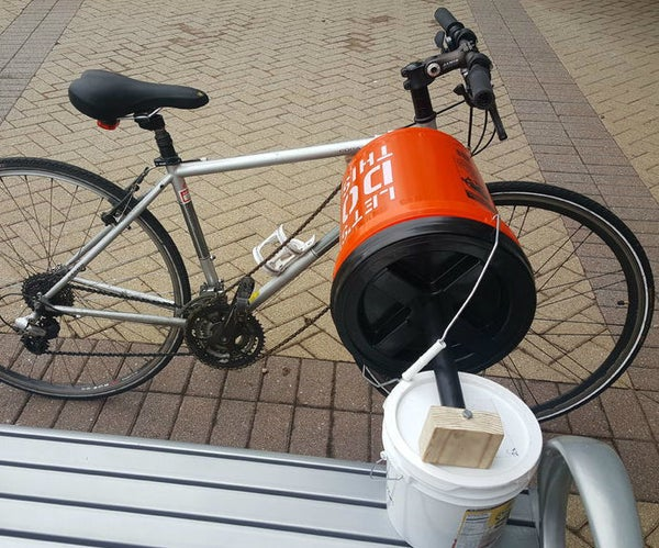 SudsCycle: a Bicycle-Powered Washing Machine (Prototype 1.0)