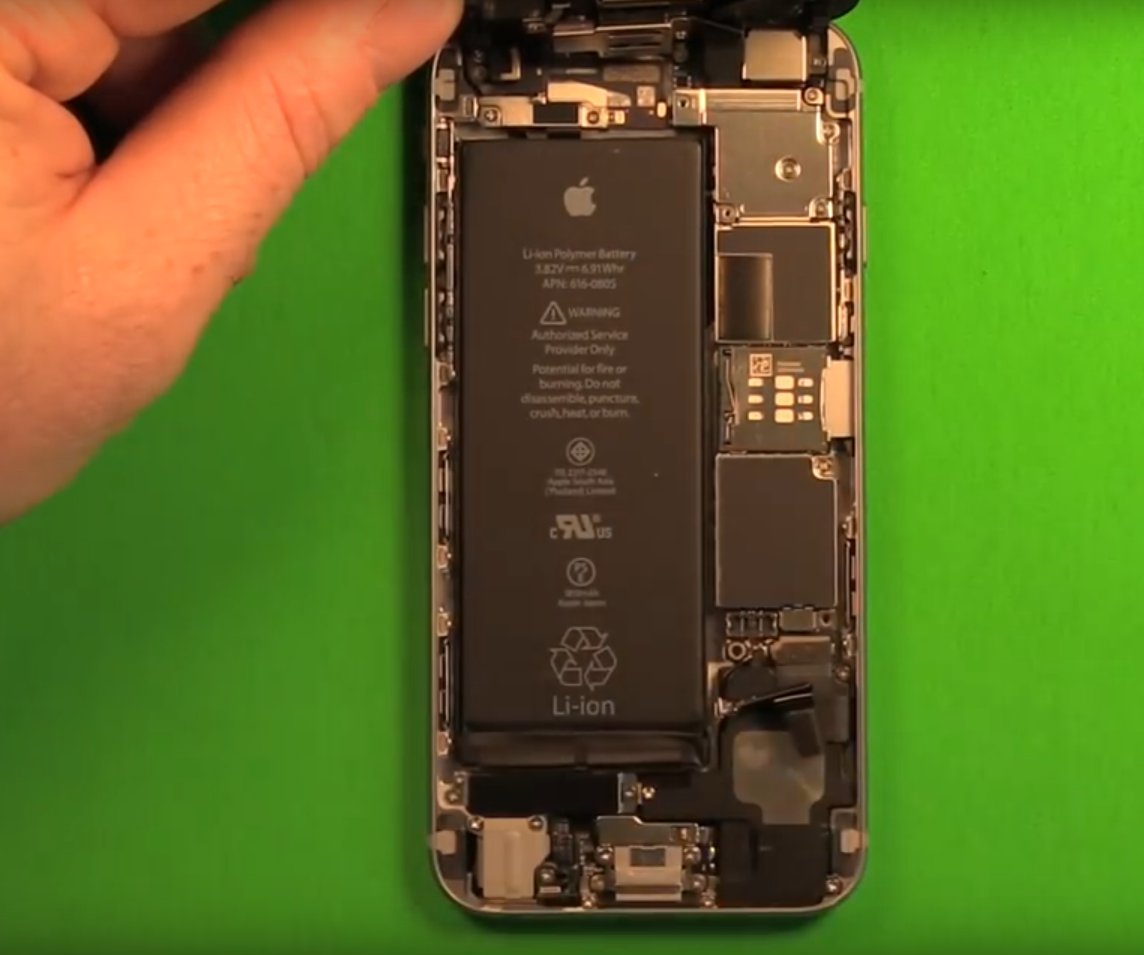 How to Replace the Battery in the iPhone 6