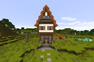 How To Build A Medieval House In Minecraft 17 Steps With Pictures Instructables