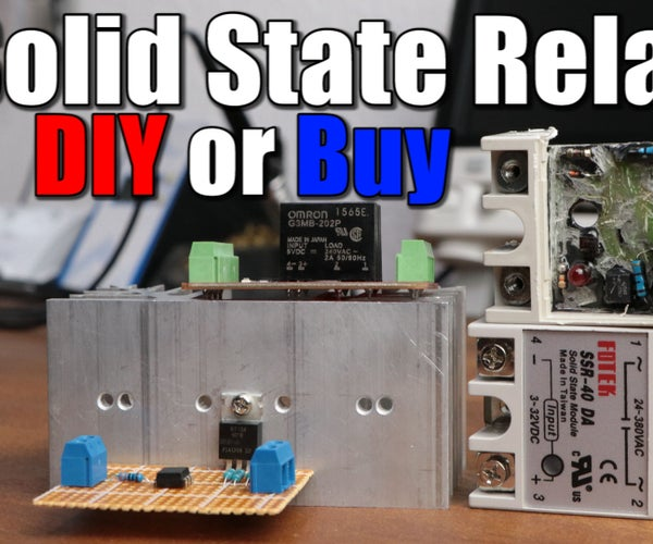 Make Your Own Solid State Relay
