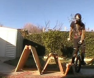 How to Make Sandwich Boards for Use As Trials Riding Obstacles