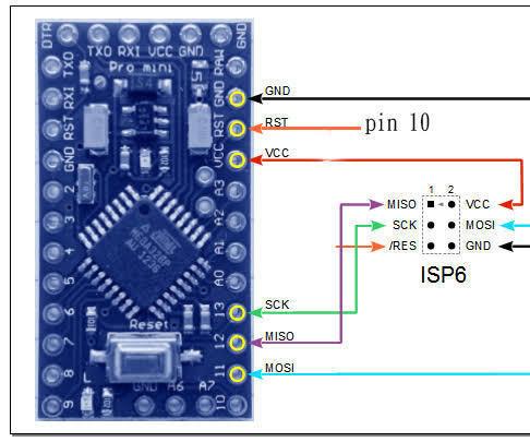 Program Arduino Pro Mini With Arduino Leonardo
