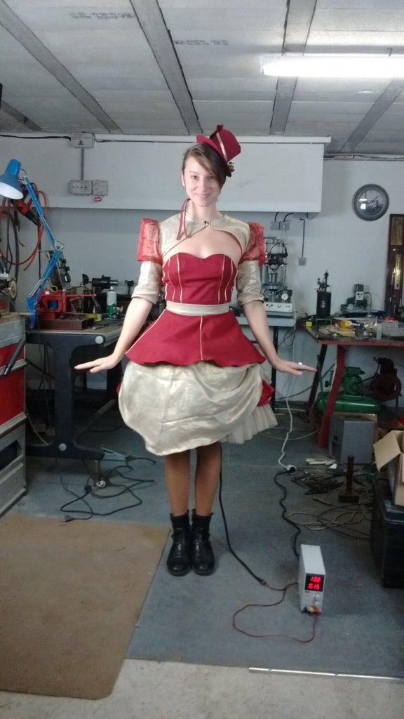 Mechanic Doll's Motorized Skirt