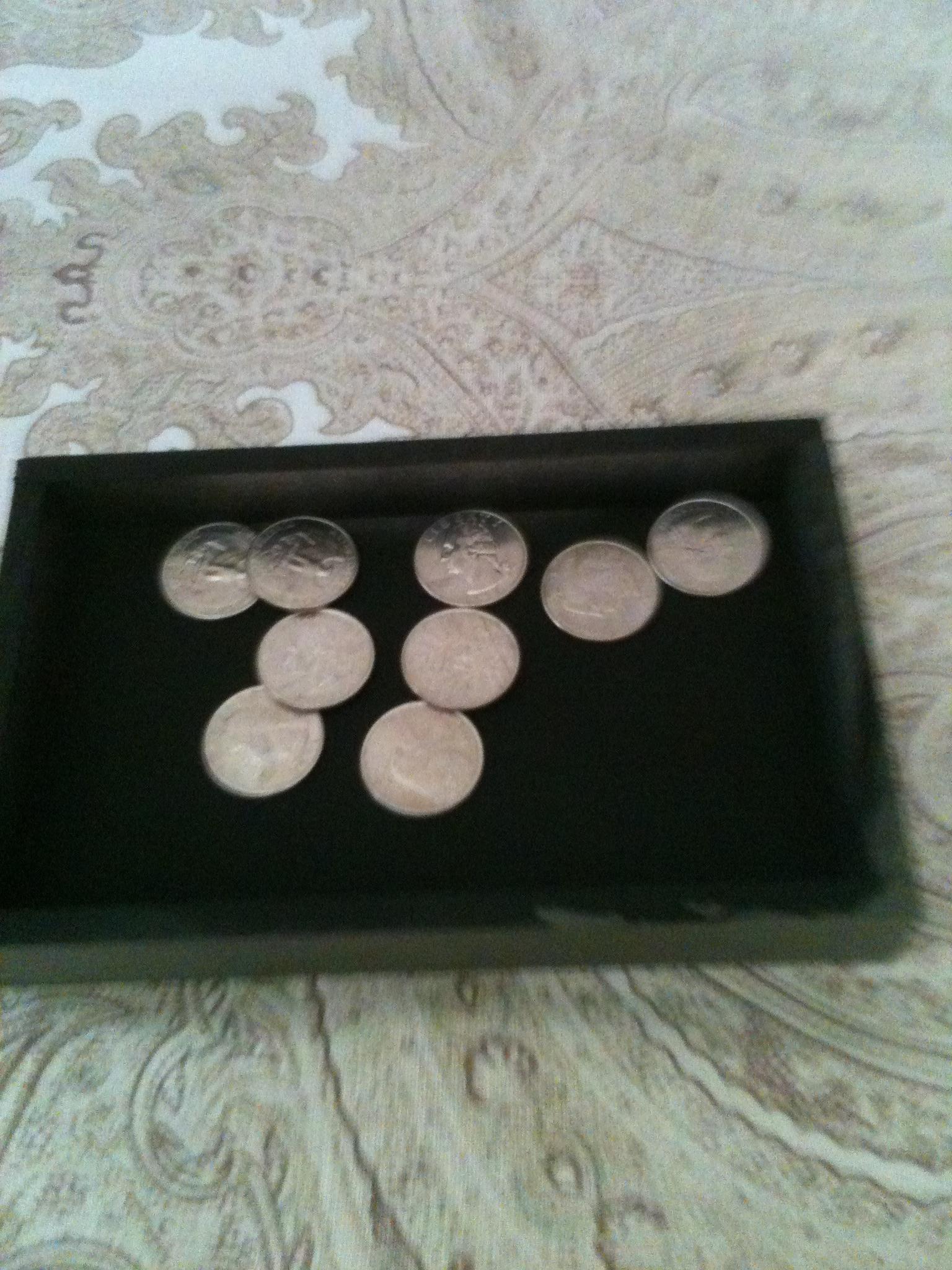 Mini Coin Tray