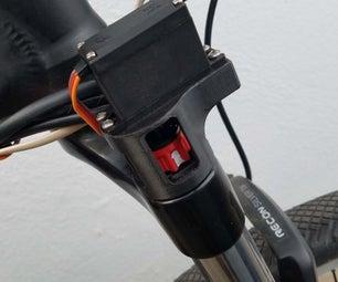 One Button Servo Suspension Lockout