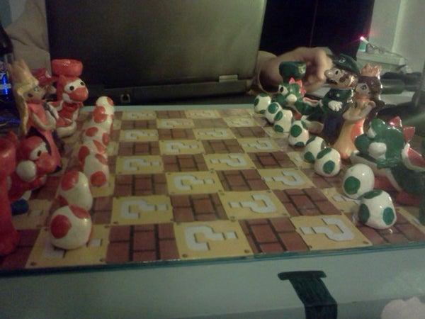 Super Mario Chess Set