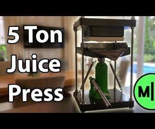 Make a 40$ Cold Juice Press!