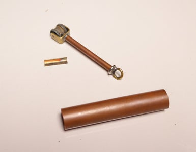 Adding the Sparkwheel to the Copper Tube