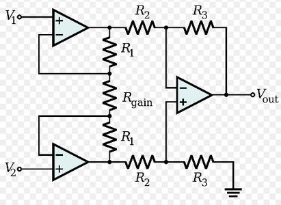 Instrumentation Differential Amplifier