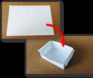 Super Quick and Easy Paper Box