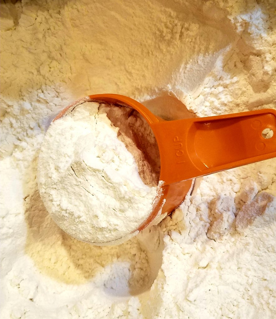 Make the Oatmeal Cookie Mixture