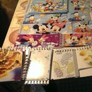 Doodle Pads for Children from tissue & cereal boxes