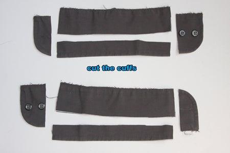 Step 10: Make Fabric Belt and Belt Loops