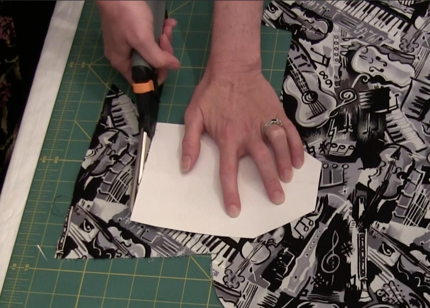 Cut Fabric Pieces