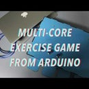 Multi-core Exercise Game From Arduino