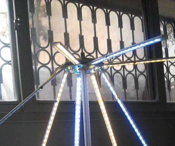 Umbrella LED Desk Lamp
