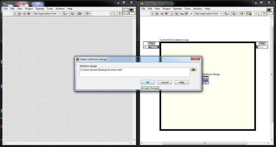 Importing Multisim Design File