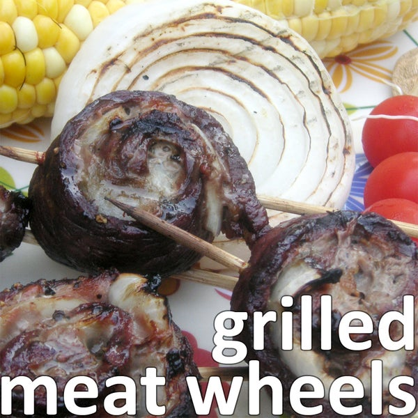 Grilled Meat Wheels