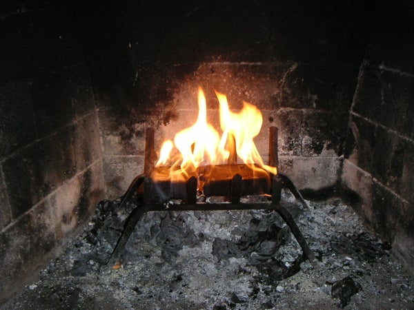 How to Make a Coffee Fire Log