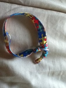 Braclet Made of Old Ribbon