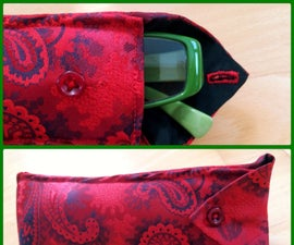 Tie to Glasses Case - Padded