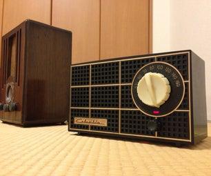Bluetooth Tube Radio Project 3 - Japanese Mid-Century Plastic Radio
