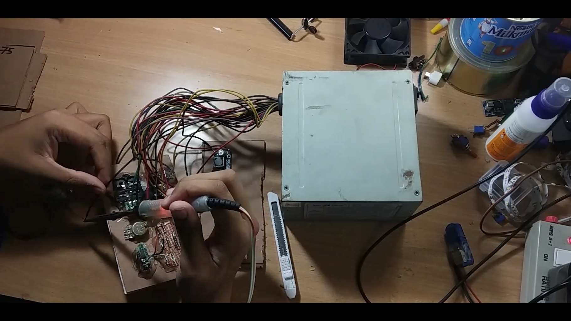 Soldering and Making the Circuit